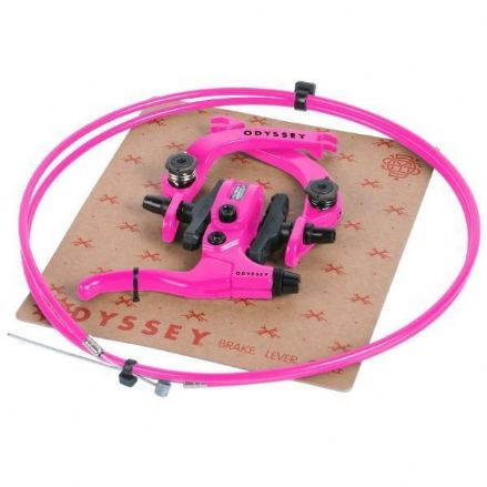 Odyssey Evo 2.5 Brake Kit - Hot Pink